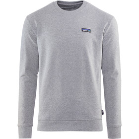 Patagonia P-6 Label Uprisal Pyöreäkauluksinen Collegepusero Miehet, gravel heather